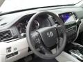 2017 Honda Pilot Gray Interior Dashboard Photo