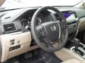 2017 Honda Pilot Beige Interior Dashboard Photo