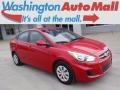 Boston Red 2016 Hyundai Accent SE Sedan