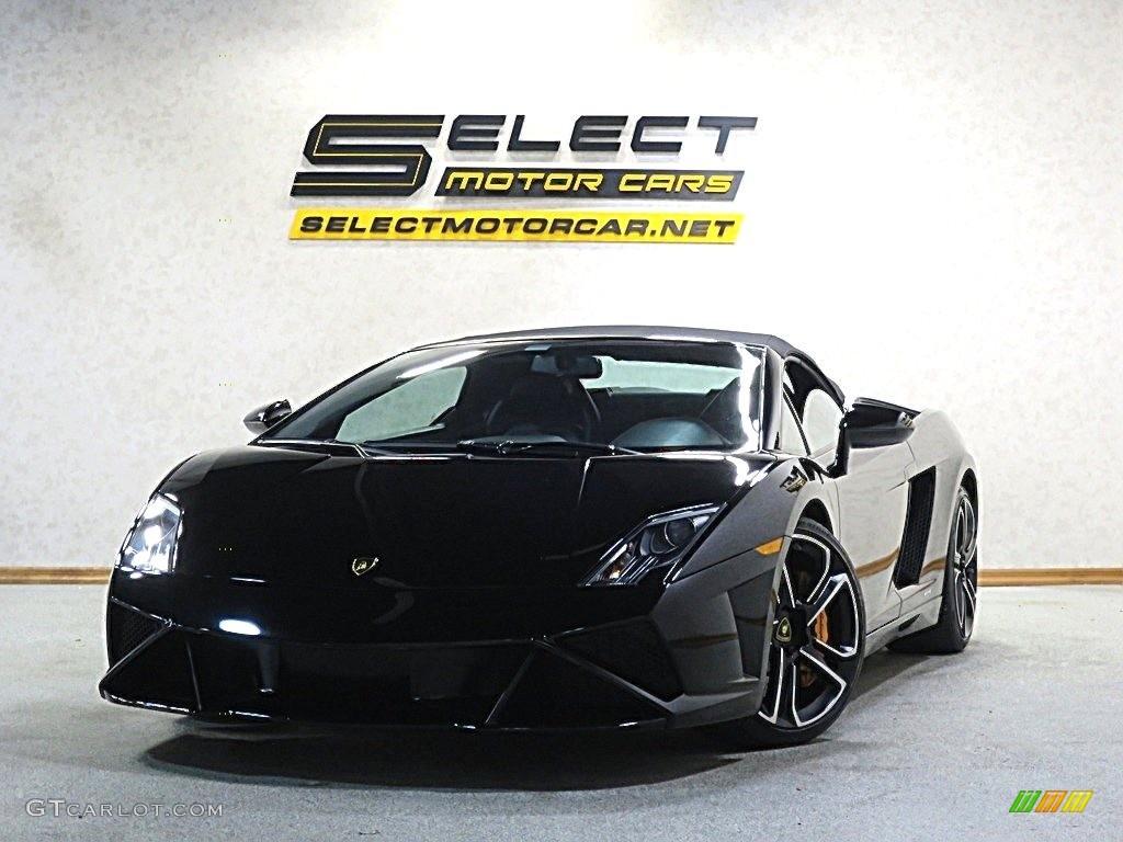 2014 Nero Noctis Lamborghini Gallardo Lp560 4 Spyder 118851283