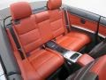 Rear Seat of 2013 3 Series 328i Convertible