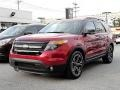 Ruby Red Metallic 2013 Ford Explorer Gallery