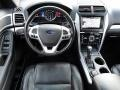 2013 Ford Explorer Charcoal Black/Sienna Interior Dashboard Photo