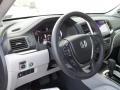 2017 Honda Pilot Gray Interior Steering Wheel Photo