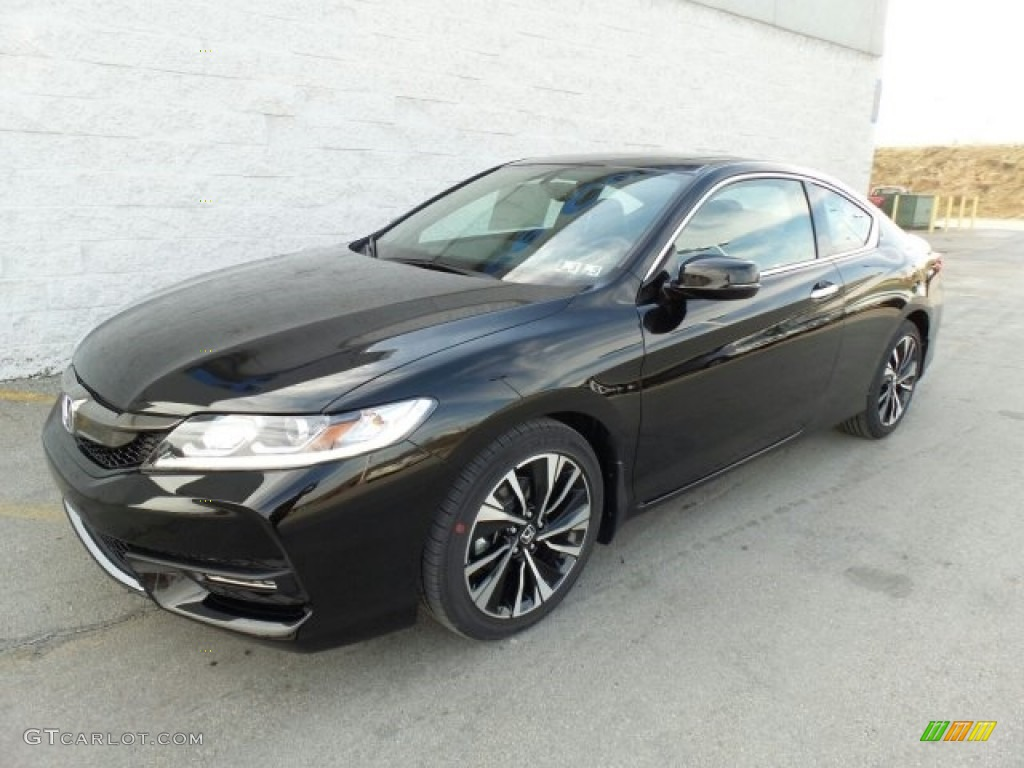 Crystal Black Pearl 2017 Honda Accord EX-L Coupe Exterior ...