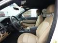 Medium Light Camel Front Seat Photo for 2017 Ford Explorer #118881835