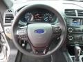 2017 Ford Explorer Medium Light Camel Interior Steering Wheel Photo