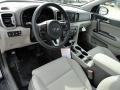 2017 Sportage EX Gray Interior