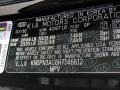 2017 Sportage EX Black Cherry Color Code 9P
