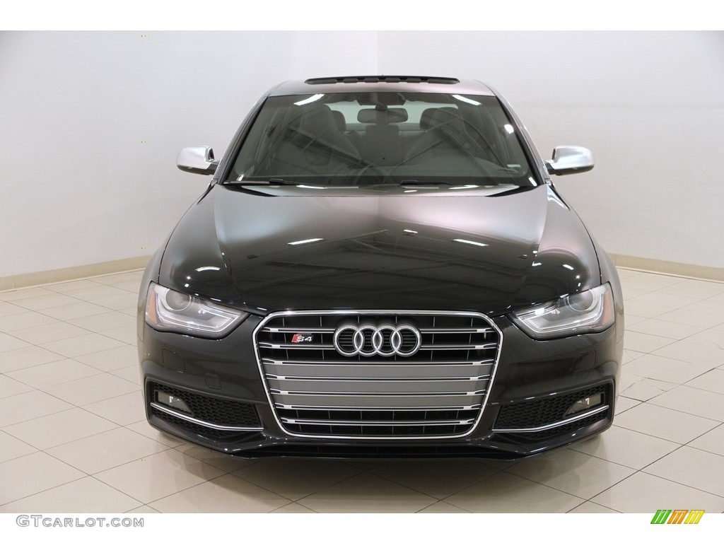 2014 S4 Prestige 3.0 TFSI quattro - Phantom Black Pearl / Black photo #2