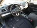 Slate Black 2017 Subaru Legacy Interiors