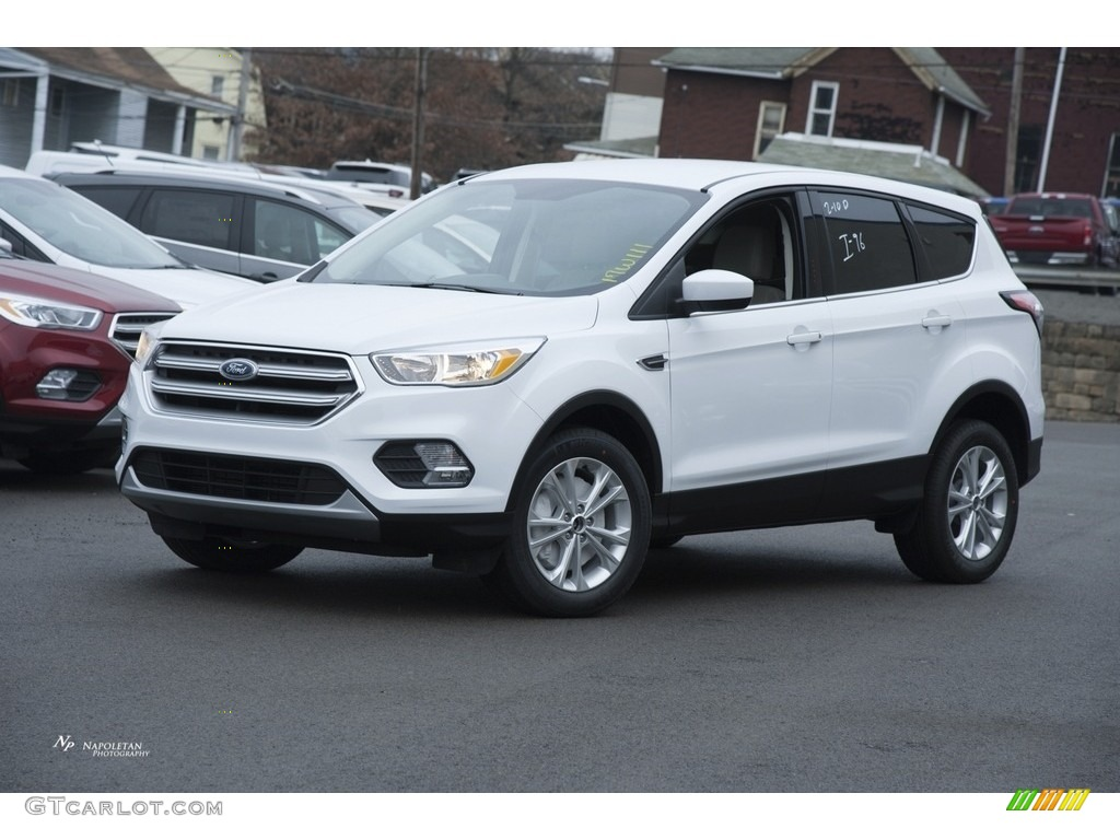 2017 oxford white ford escape se 4wd 118872471 car color galleries. Black Bedroom Furniture Sets. Home Design Ideas