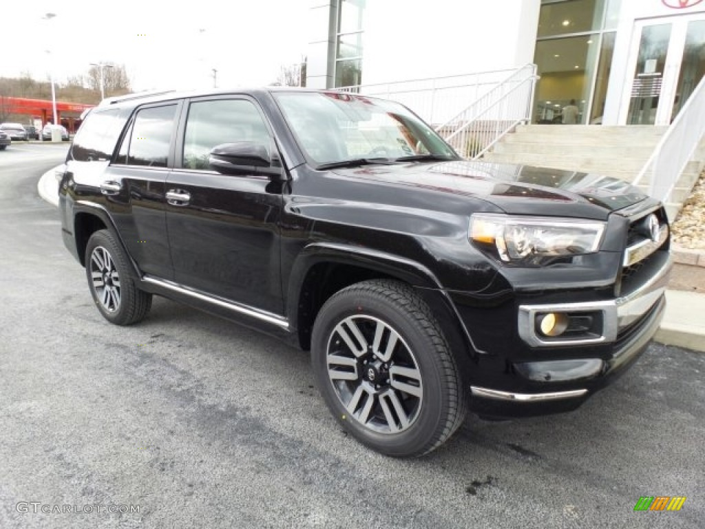 2017 midnight black metallic toyota 4runner limited 4x4 118900076 photo 6 car. Black Bedroom Furniture Sets. Home Design Ideas