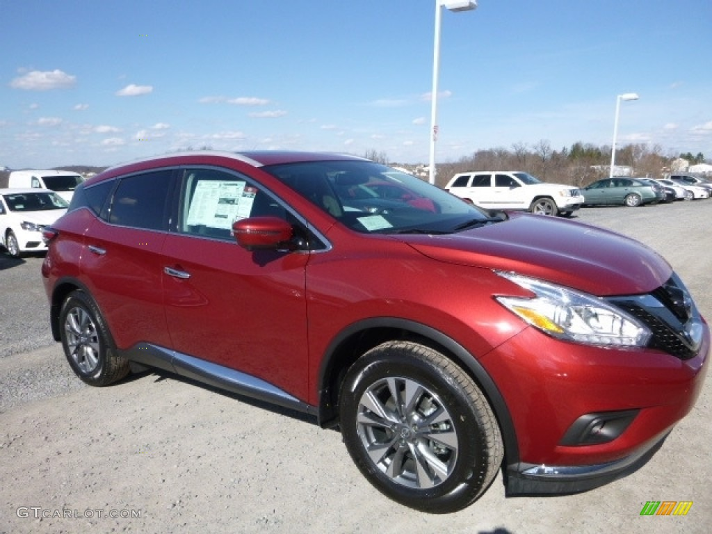 Cayenne Red Nissan Murano