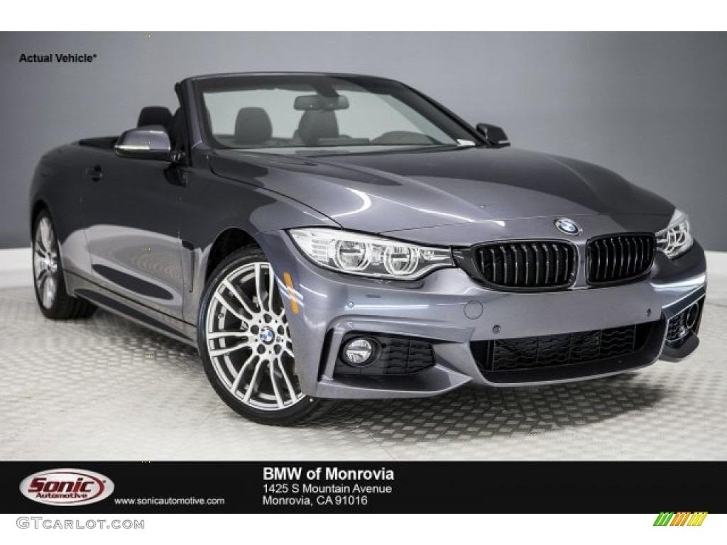 Bmw 428i Convertible 2017 >> 2017 Mineral Grey Metallic BMW 4 Series 430i Convertible #118900165 Photo #10 | GTCarLot.com ...