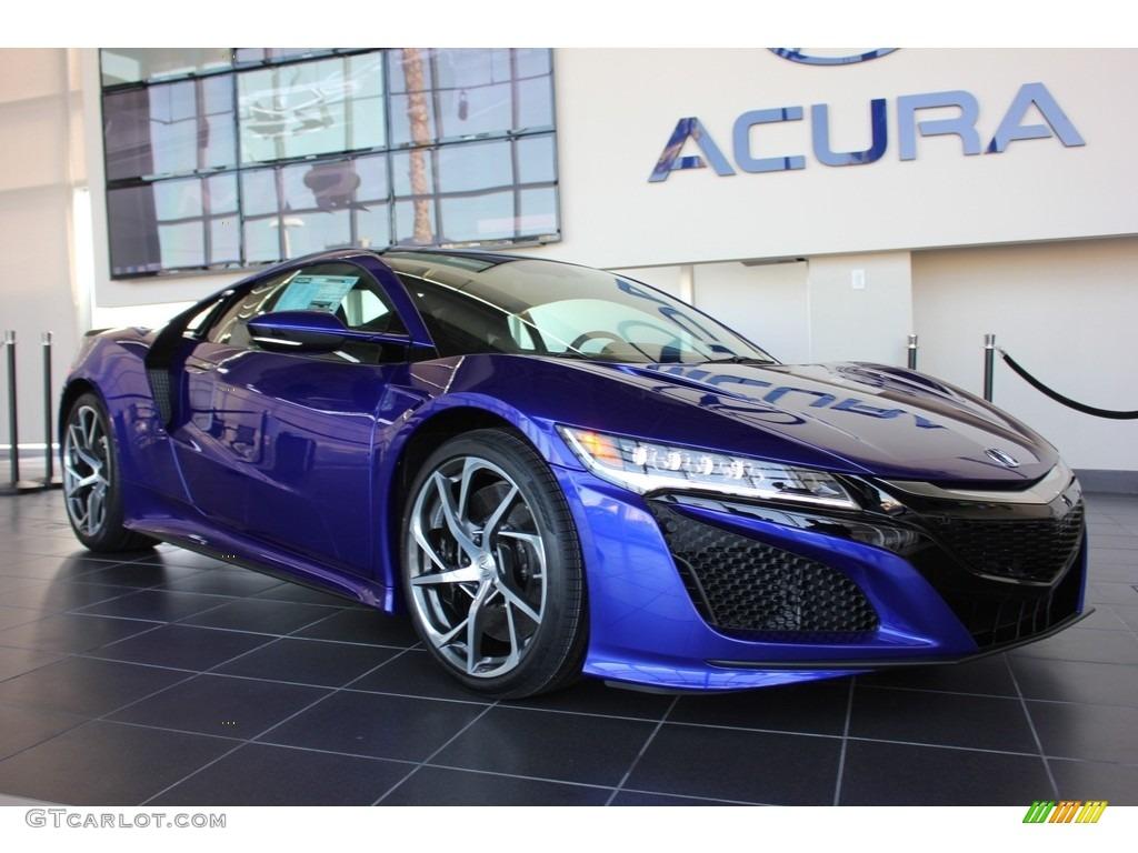 2017 Nouvelle Blue Pearl Acura Nsx 118928592 Gtcarlot Com Car Color Galleries