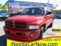 2001 Flame Red Dodge Ram 1500 SLT Club Cab #118928517