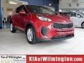 Hyper Red 2017 Kia Sportage LX
