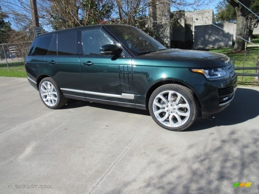 2017 aintree green metallic land rover range rover supercharged 118943438 car. Black Bedroom Furniture Sets. Home Design Ideas
