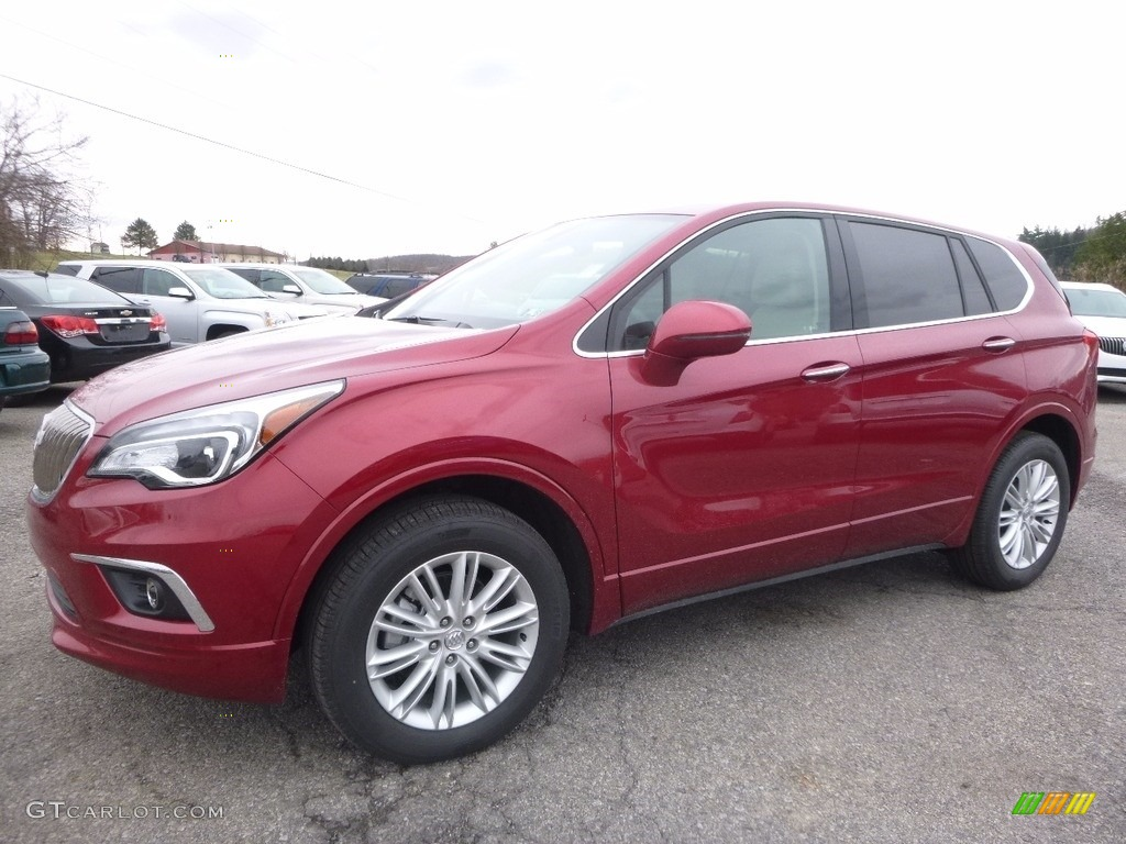 2017 chili red metallic buick envision preferred awd 118949714 car color galleries. Black Bedroom Furniture Sets. Home Design Ideas