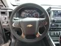 2017 Chevrolet Silverado 1500 Jet Black Interior Steering Wheel Photo