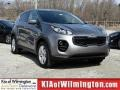Mineral Silver 2017 Kia Sportage LX AWD