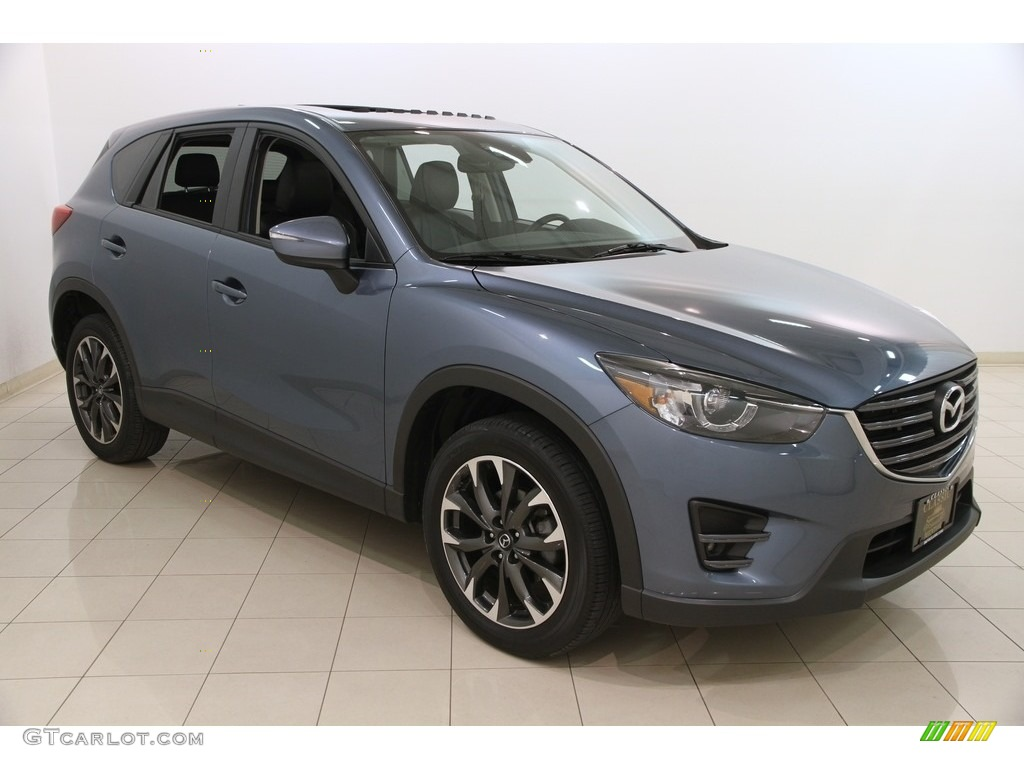 2016 blue reflex mica mazda cx 5 grand touring awd. Black Bedroom Furniture Sets. Home Design Ideas