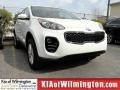 Clear White 2017 Kia Sportage LX AWD