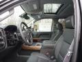 Jet Black Front Seat Photo for 2017 Chevrolet Silverado 2500HD #118993773