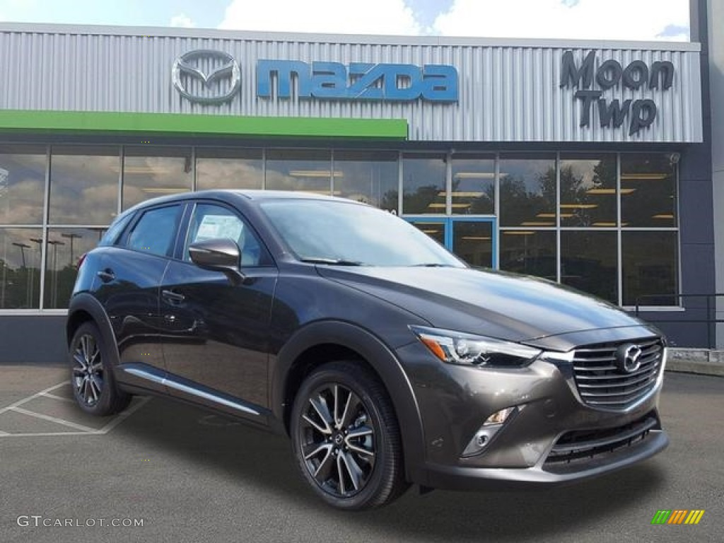 2017 meteor gray mica mazda cx 3 grand touring awd 118989515 car color galleries. Black Bedroom Furniture Sets. Home Design Ideas