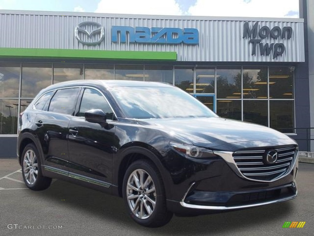 2016 jet black mica mazda cx 9 grand touring awd 118989475 car color galleries. Black Bedroom Furniture Sets. Home Design Ideas