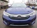 Vortex Blue Pearl - Accord Hybrid EX-L Sedan Photo No. 6
