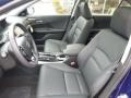 Front Seat of 2017 Accord Hybrid EX-L Sedan