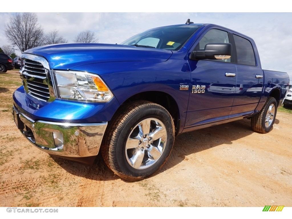 2017 blue streak pearl ram 1500 big horn crew cab 4x4 118989234 photo 7 car. Black Bedroom Furniture Sets. Home Design Ideas