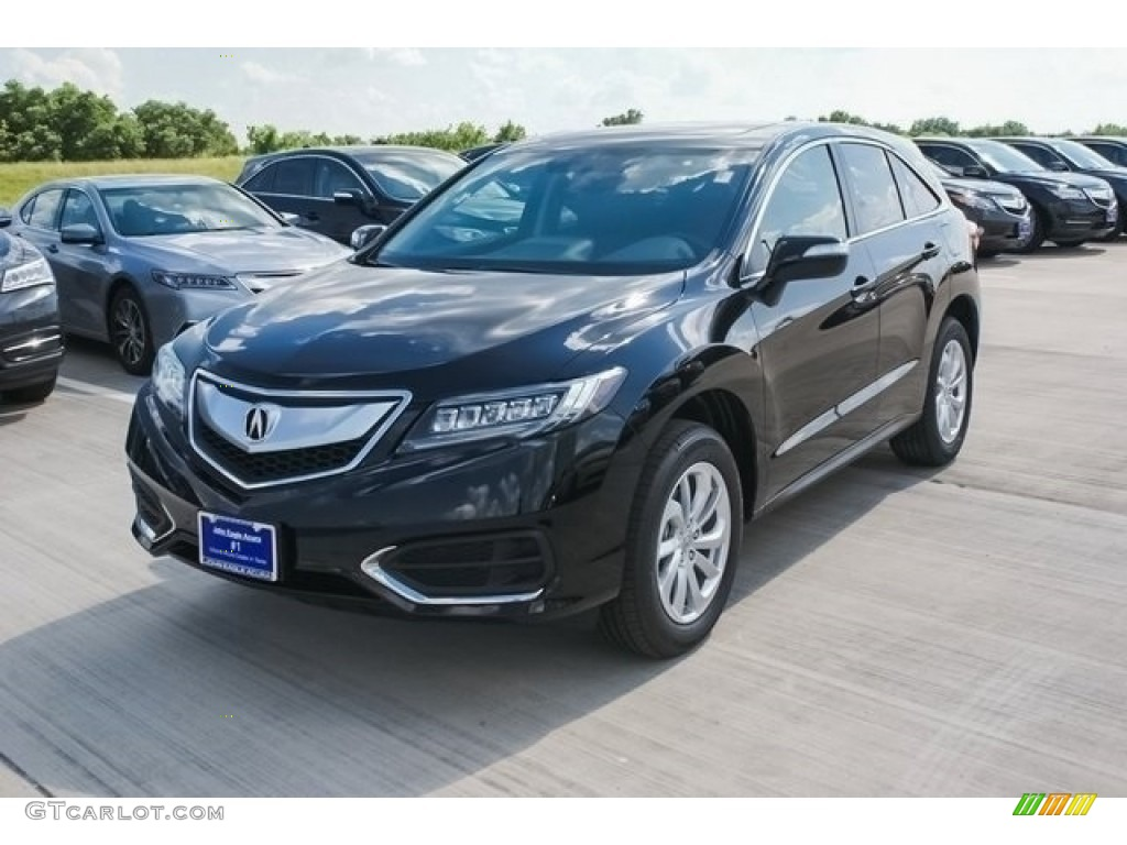 2017 crystal black pearl acura rdx technology 118989169. Black Bedroom Furniture Sets. Home Design Ideas