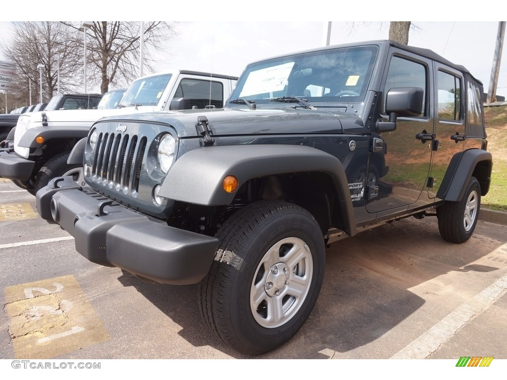 2017 Rhino Jeep Wrangler Unlimited Sport 4x4 118989212 Car Color Galleries