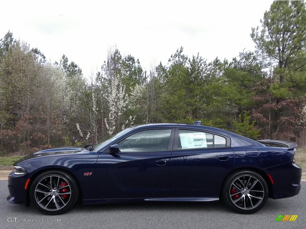 Contusion Blue Dodge Charger