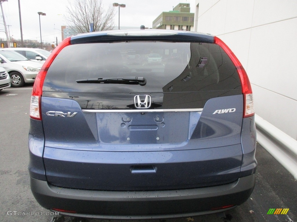 2014 CR-V EX AWD - Twilight Blue Metallic / Gray photo #5