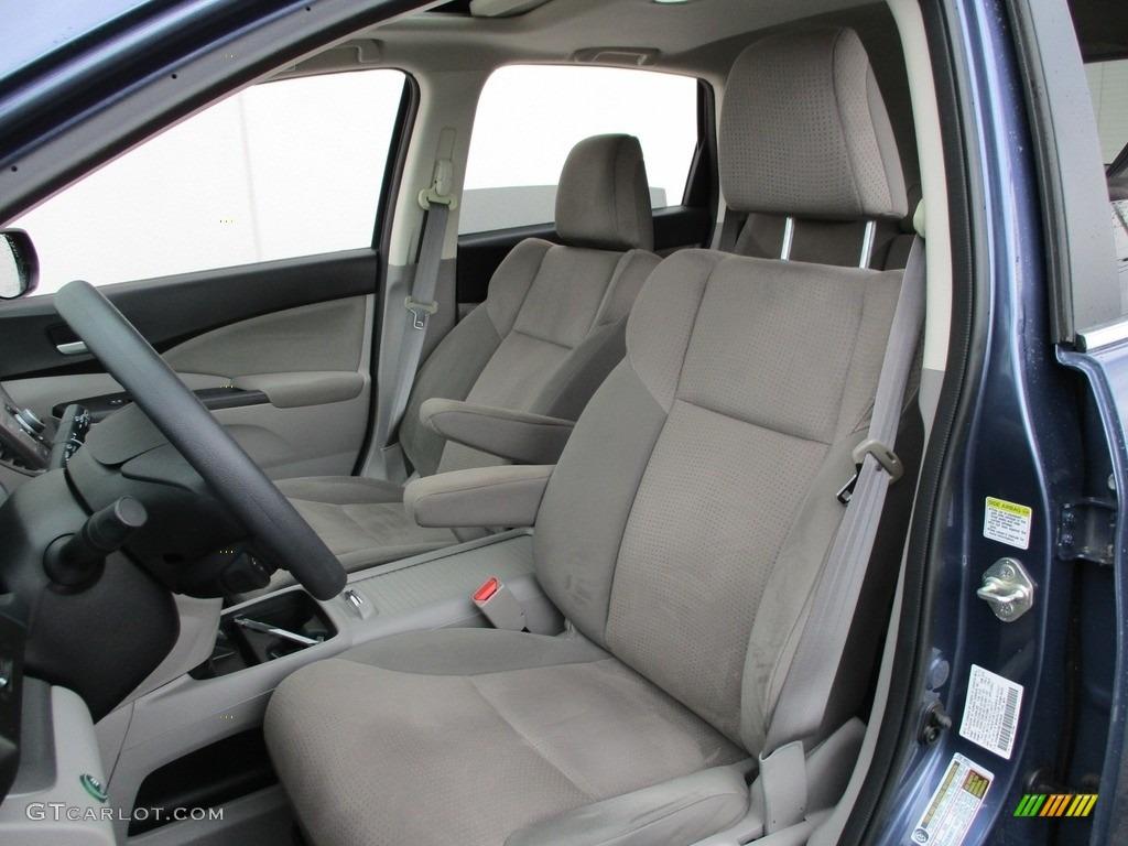 2014 CR-V EX AWD - Twilight Blue Metallic / Gray photo #12