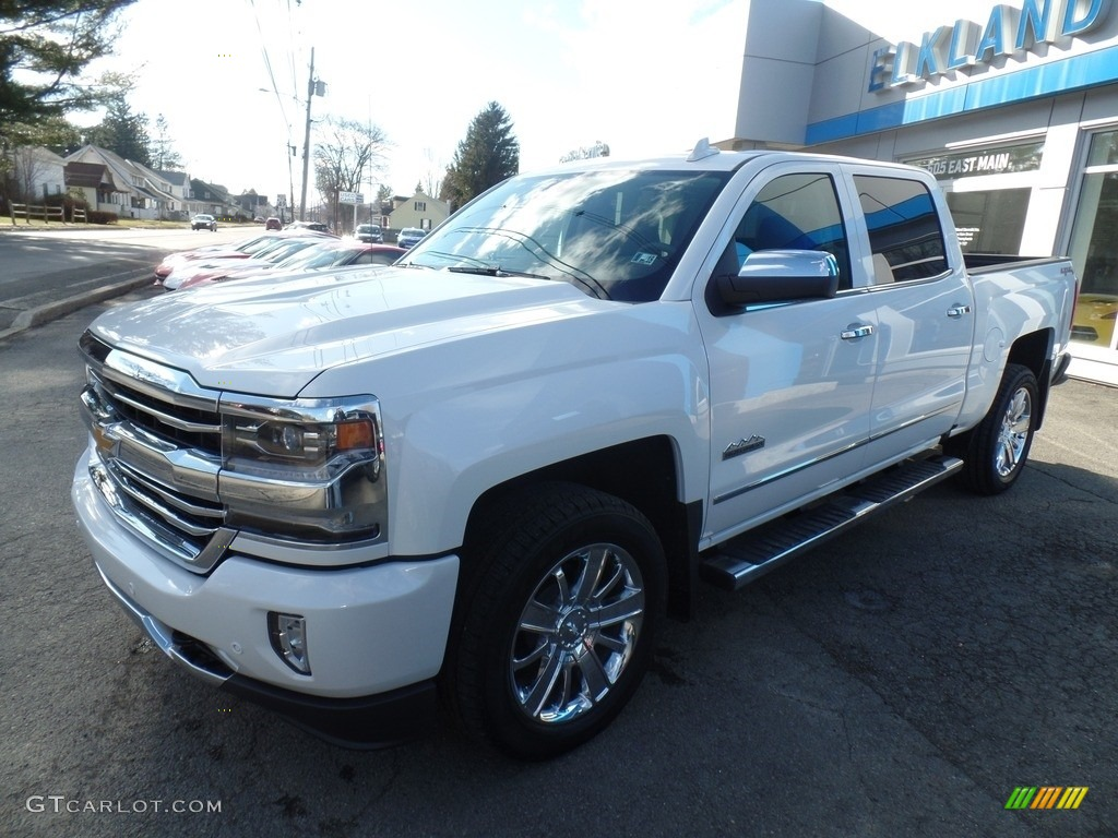2017 iridescent pearl tricoat chevrolet silverado 1500 high country crew cab 4x4 119022705. Black Bedroom Furniture Sets. Home Design Ideas