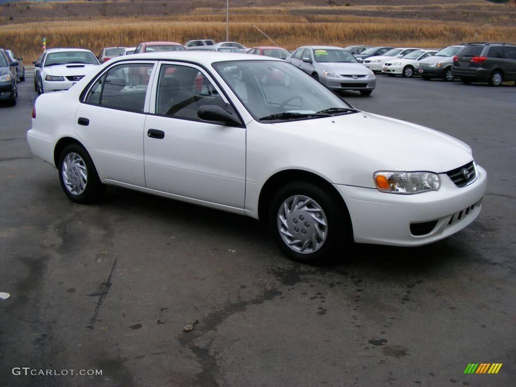 2002 super white toyota corolla ce 11893291 car color galleries. Black Bedroom Furniture Sets. Home Design Ideas