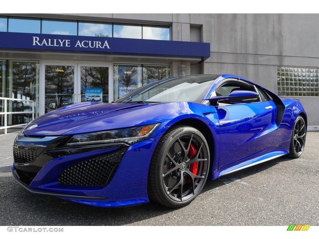 2017 Nouvelle Blue Pearl Acura Nsx 119050802 Gtcarlot Com Car Color Galleries