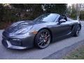 Agate Grey Metallic 2016 Porsche Boxster Spyder