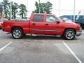 2005 Victory Red Chevrolet Silverado 1500 LS Crew Cab  photo #6