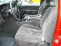 2005 Victory Red Chevrolet Silverado 1500 LS Crew Cab  photo #9