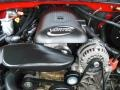 2005 Victory Red Chevrolet Silverado 1500 LS Crew Cab  photo #17