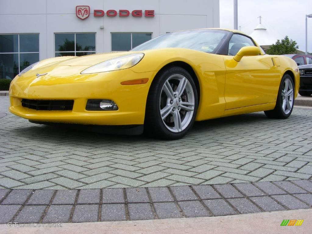 2009 velocity yellow chevrolet corvette coupe 11892320. Black Bedroom Furniture Sets. Home Design Ideas
