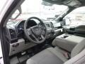Earth Gray Interior Photo for 2017 Ford F150 #119070995