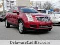 Crystal Red Tincoat 2016 Cadillac SRX Luxury