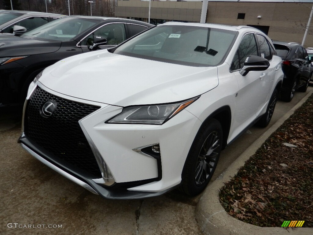 2017 Ultra White Lexus Rx 350 F Sport Awd 119090700 Car Color Galleries